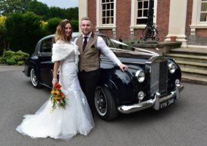 Classic rolls-Royce Wedding Car hire Birmingham