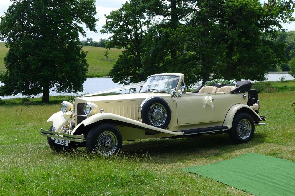 Vintage Beauford Wedding Car hire West Midlands, Birmingham