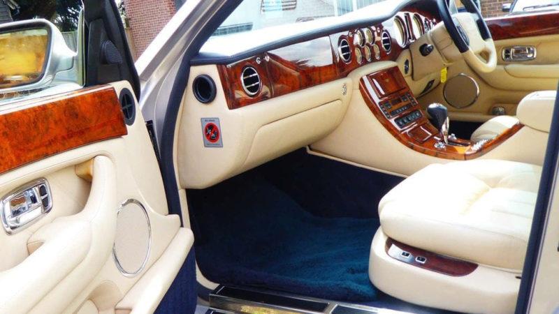 Bentley Arnage wedding car for hire in Christchurch, Dorset
