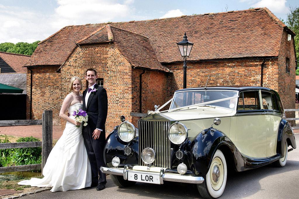 Classic Rolls-Royce Wedding Car Hire London