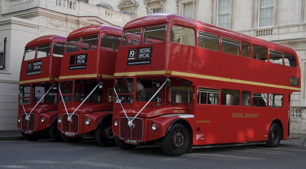 Classic Routemaster Wedding bus Hire London