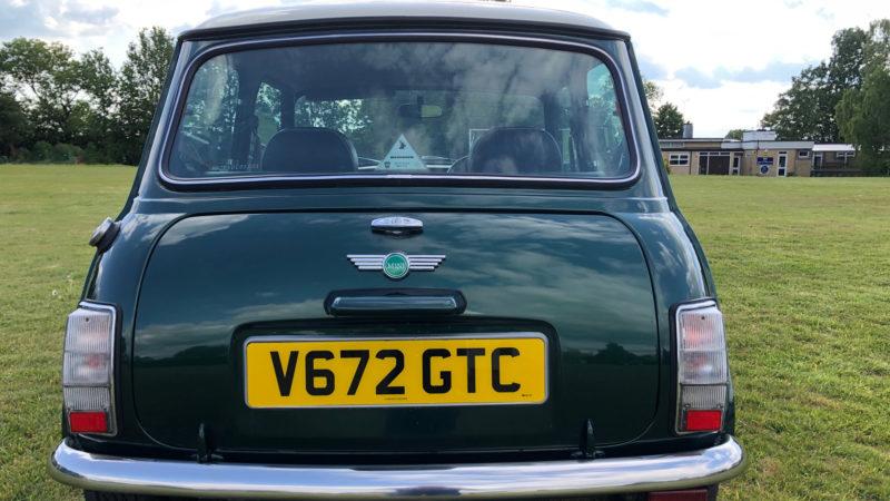Mini Cooper S wedding car for hire in Chippenham, Wiltshire