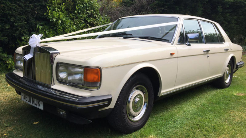 Rolls-Royce Silver Spirit wedding car for hire in Leeds, West Yorkshire