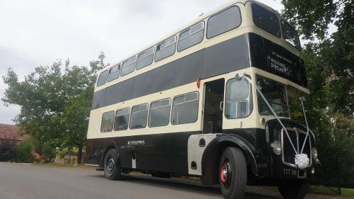 AEC Regent V wedding car for hire in Kidderminster, Worcestershire