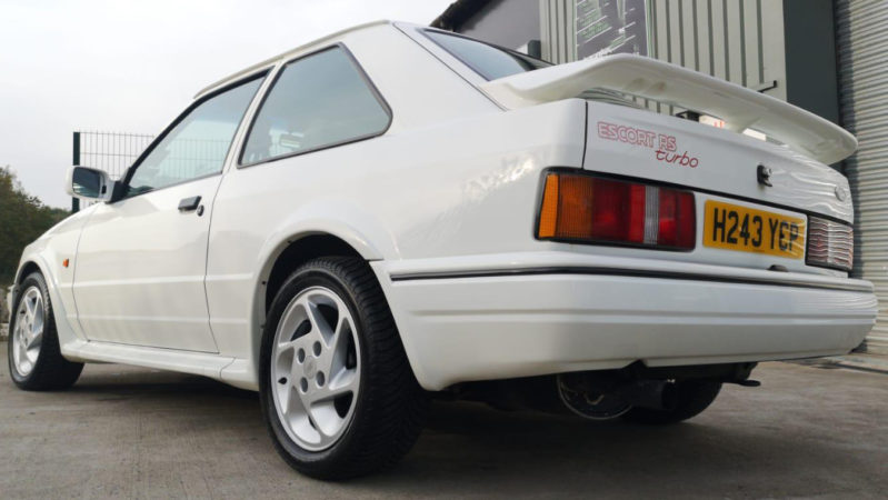 Ford Escort Mk IV RS Turbo wedding car for hire in Wigan, Manchester