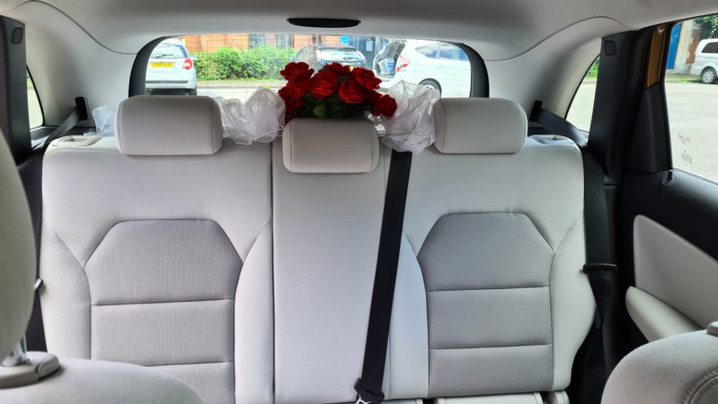Mercedes 'B' Class wedding car for hire in London