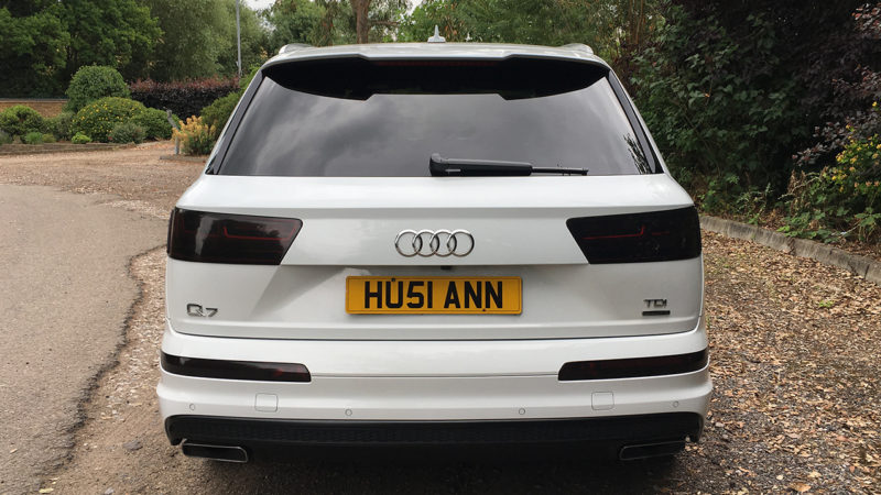 Audi Q7 S Line wedding car for hire in Enfield, London