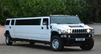 Hummer H2 Limousine wedding car for hire in London