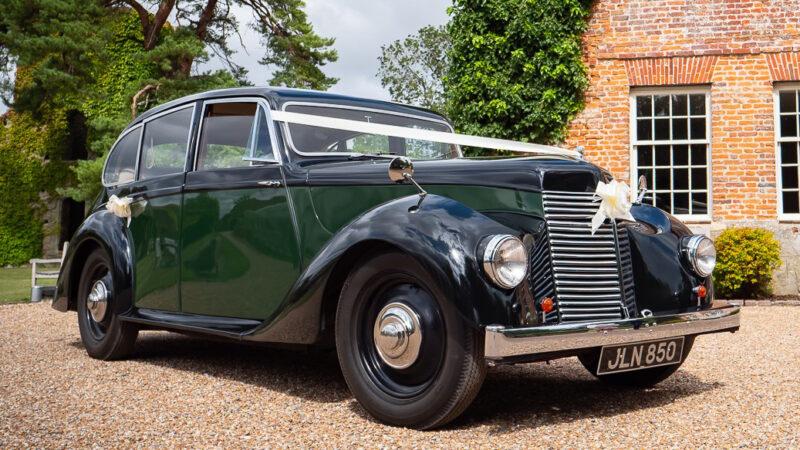 Armstrong-Siddeley Lancaster wedding car for hire in Ashford, Kent