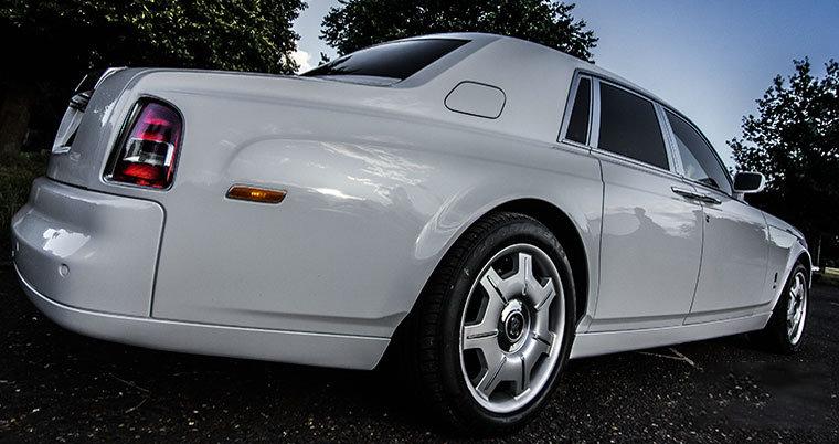 Rolls-Royce Phantom wedding car for hire in London