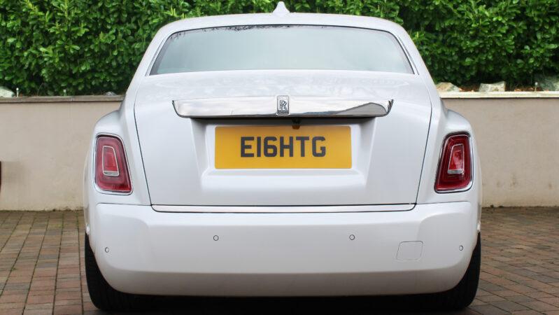Rolls-Royce Phantom 8 wedding car for hire in London