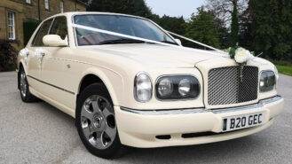 Bentley Arnage wedding car for hire in Huddersfield, West Yorkshire