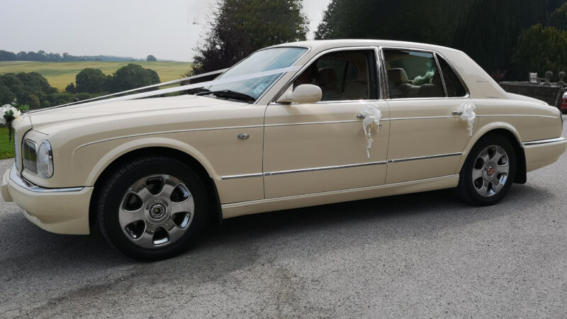 Bentley Arnage wedding car for hire in Barnsley, South Yorkshire