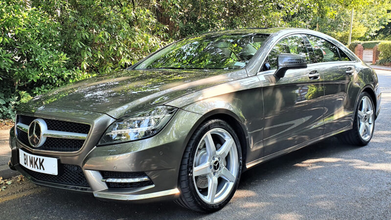 Mercedes CLS 350 AMG Sport wedding car for hire in Bournemouth, Dorset