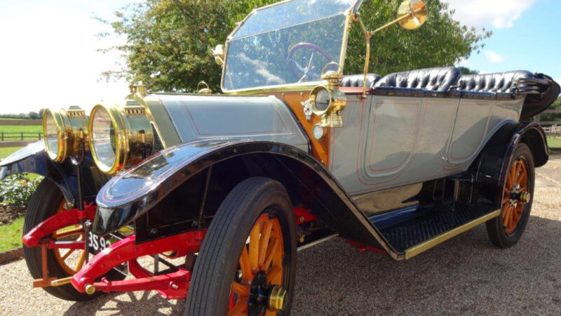 Oakland Model 40 Tourer wedding car for hire in Ipswich, Suffolk