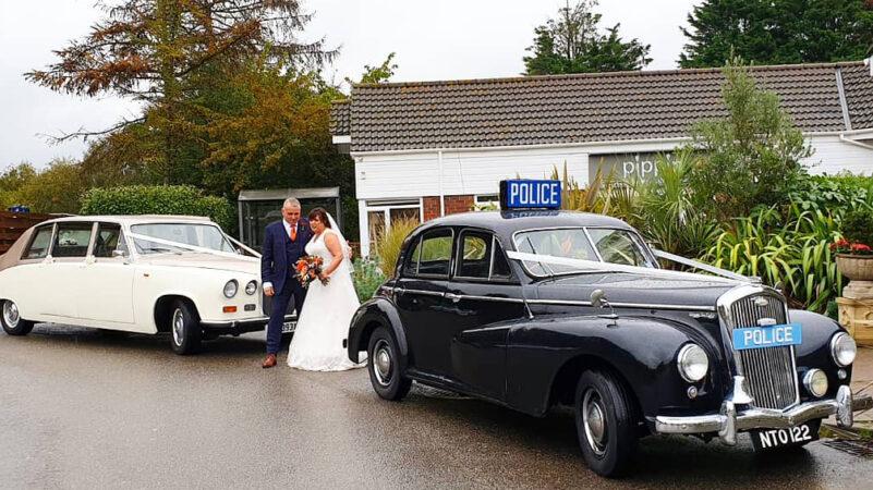 Wolseley 680 Police Car wedding car for hire in Basildon, Essex