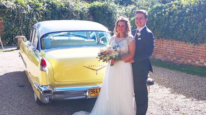 Cadillac Formal Sedan wedding car for hire in Basildon, Essex