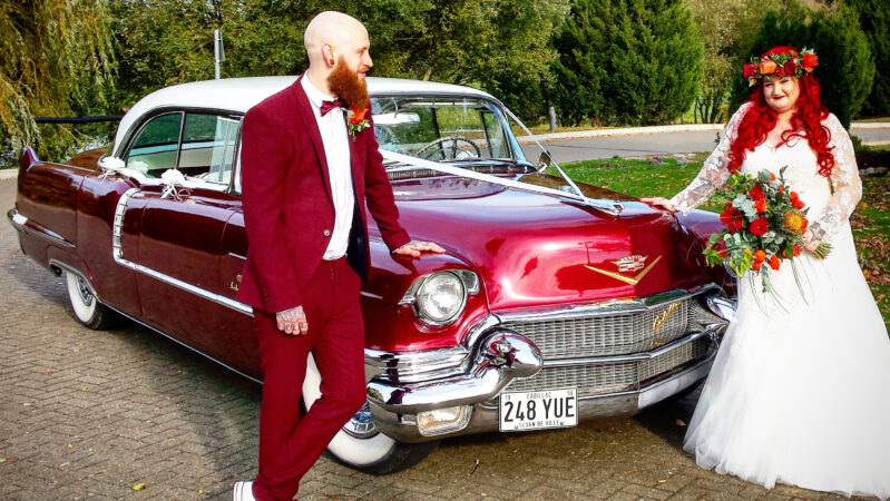 Cadillac Sedan De Ville wedding car for hire in Basildon, Essex