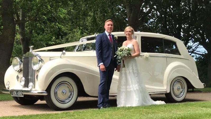 Rolls-Royce Silver Wraith wedding car for hire in Basildon, Essex