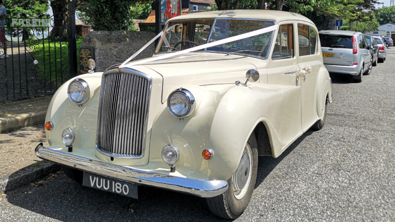 Austin Princess Vanden-Plas Limousine wedding car for hire in Basildon, Essex