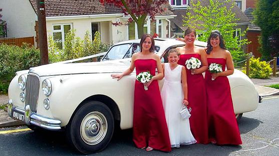 Jaguar MK7 Saloon wedding car for hire in Basildon, Essex