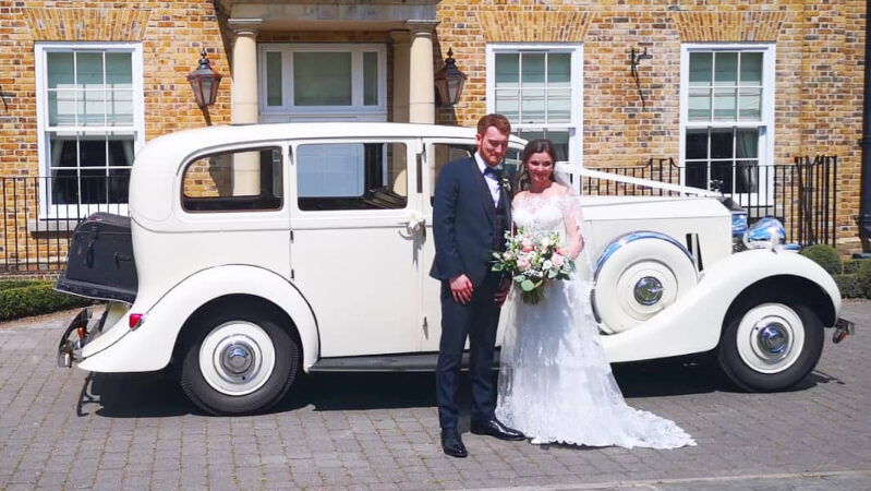 Rolls-Royce Wraith Limousine wedding car for hire in Basildon, Essex