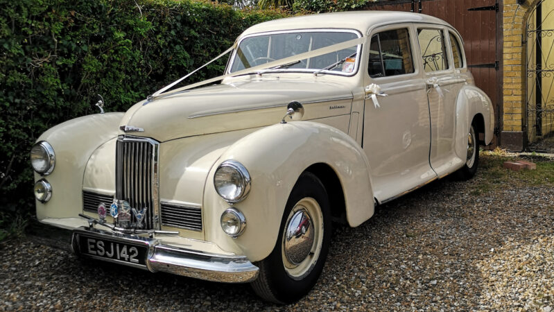 Humber Pullman Limousine wedding car for hire in Basildon, Essex