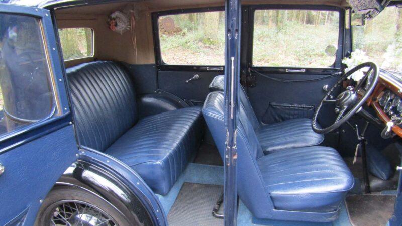 Austin 10 Lichfield wedding car for hire in Kidderminster, Worcestershire
