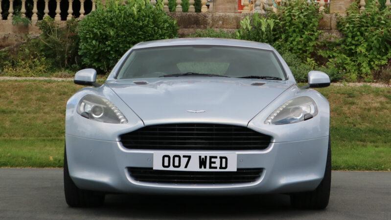 Aston Martin Rapide V12 wedding car for hire in Telford, Shropshire