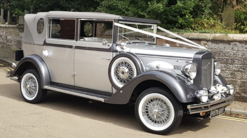 Regent Landaulette wedding car for hire in Stafford, Staffordshire