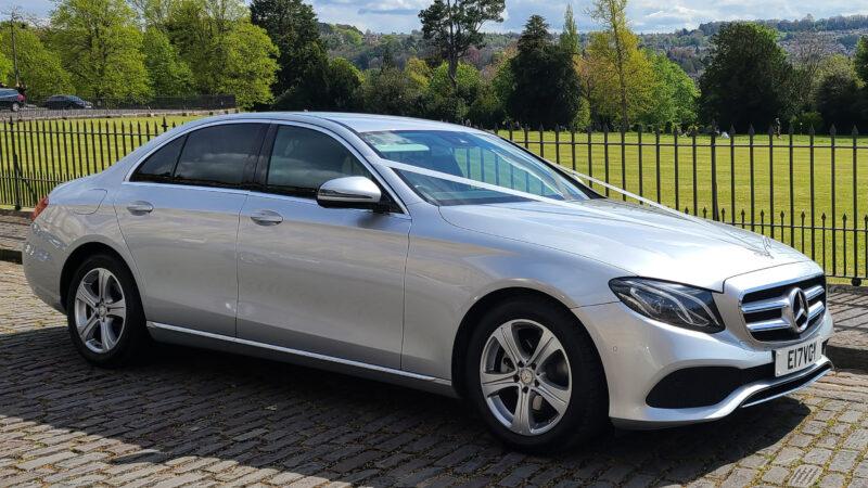 Mercedes 'E' Class wedding car for hire in Bristol